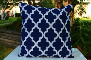 Quatrefoil Outdoor Fashion Cushions