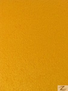 Passion Suede Fabric Canary