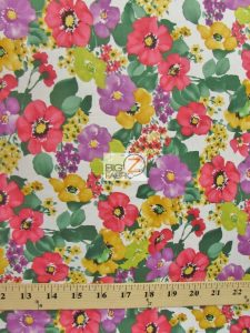 Bouquet Beauties Floral By Hoffman California Cotton Fabric