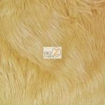 Grizzly Fake Fur Fabric Latte