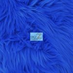 Grizzly Fake Fur Fabric Royal Blue