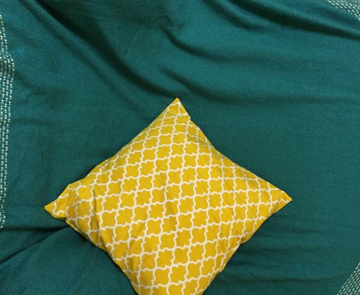 DIY Envelope Pillow Cover Front