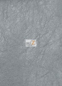 Arlind Distressed Upholstery Vinyl Fabric Silver