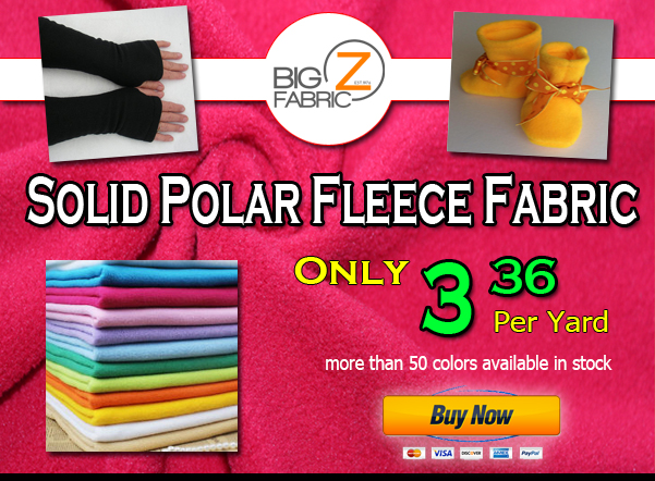 Big Z Fabric Fleece Sale