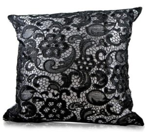Floral Lace Cushion Cover