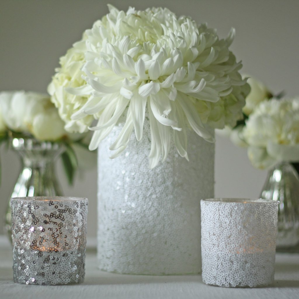 Sequins Candle Holder