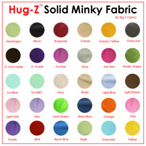 Hug-Z™ Solid Minky Fabric Steal Deal!!!