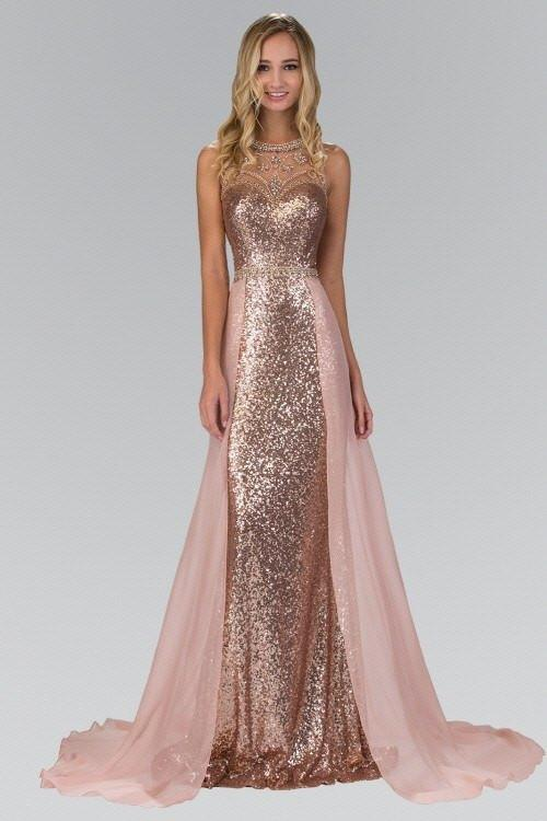 Sexy Sequins Prom Dress