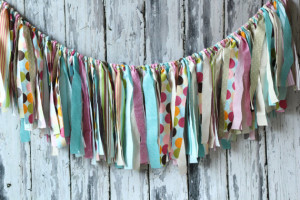 Fabric Scrap Banner