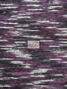 Traditional Mexican Poncho Fabric Purple