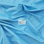 Solid Soft Fashion Vinyl Fabric Blue
