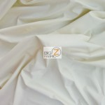 Solid Soft Fashion Vinyl Fabric Off White