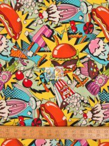 Alexander Henry Midnight Snack Cotton Fabric
