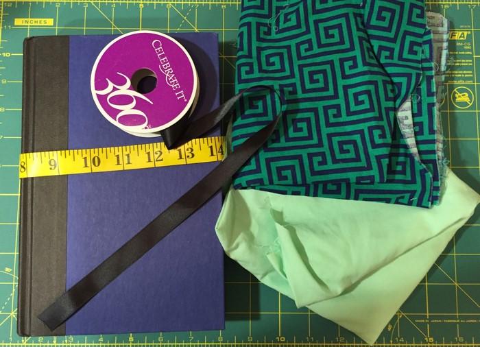 DIY Tutorial Book Cover Materials