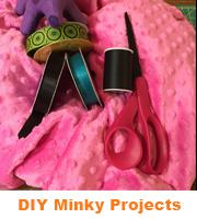 Big Z Fabric DIY Minky Projects