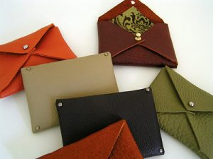 Vinyl Fabric Wallets