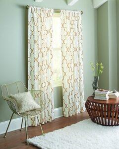 Lattice Curtains