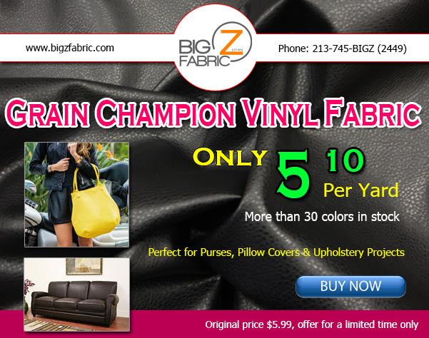 Champion Vinyl Fabric February Sale