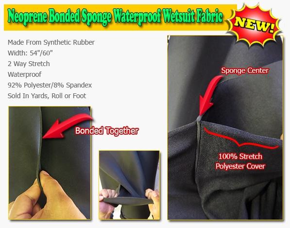 New Neoprene Fabric
