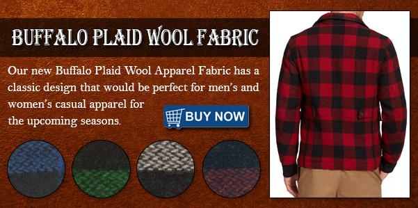 Buffalo Plaid Wool Fabric