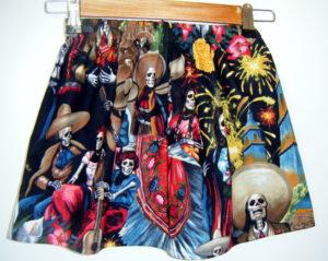 Fiesta De San Marcos Cotton Skirt