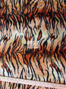 Tiger Velboa Fabric