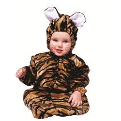 Tiger Velboa Kids Halloween Costume