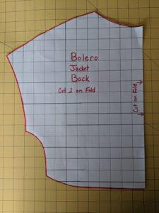Easy Sewing Project Simple Satin Bolero Jacket1