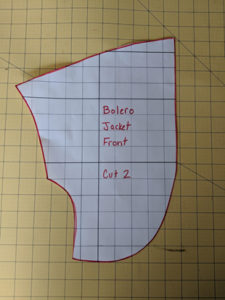 Easy Sewing Project Simple Satin Bolero Jacket2