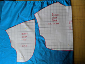 Easy Sewing Project Simple Satin Bolero Jacket3