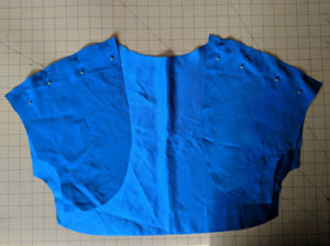 Easy Sewing Project Simple Satin Bolero Jacket4