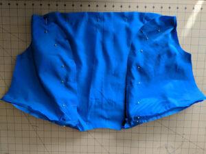 Easy Sewing Project Simple Satin Bolero Jacket6