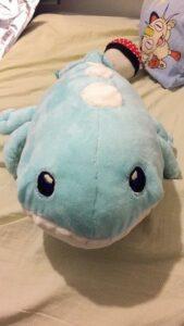 Minky Soft Fabric Wailord Pokemon Plush