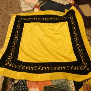 Warm Minky Fabric Blanket