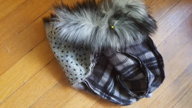 diy fur hat step  6.1 finishing touches