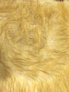 wolf faux fur fabric