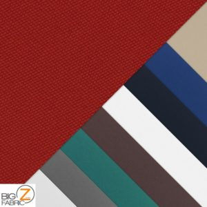 Canvas Dyed Acrylic Waterproof Outdoor Fabric