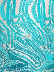 Floral Rainforest Dress Lace Fabric