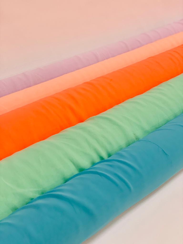 chiffon fabric rolls