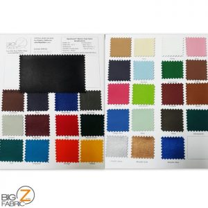 marine vinyl color card