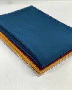 folded fabric stacked