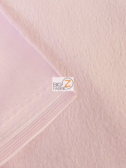 pink faux fur fabric