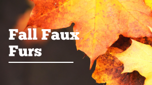 fall faux fur banners